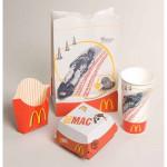 MC Donalds embalagem antiga 1990