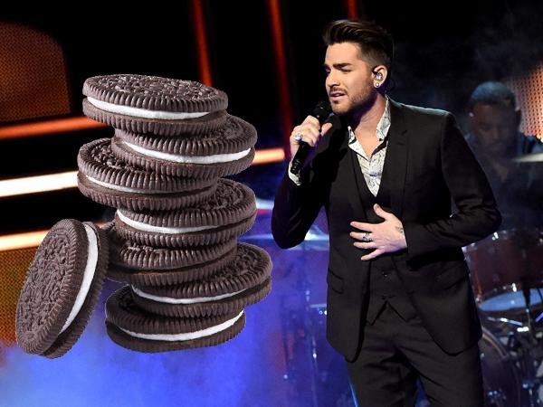Cantor Adam Lambert (Foto: Reprodução).