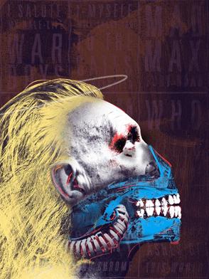 Mad Max: Estrada da Fúria por Jordan Roland. Artist Inspiration: Andy Warhol