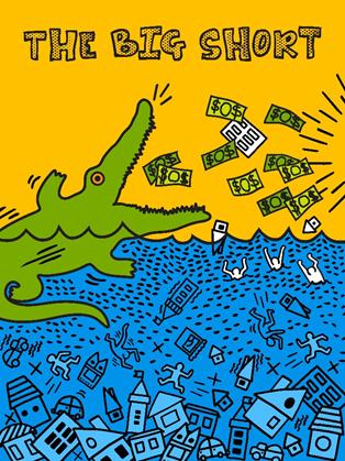 A Grande Aposta por Florence Lau. Artist Inspiration: Keith Haring