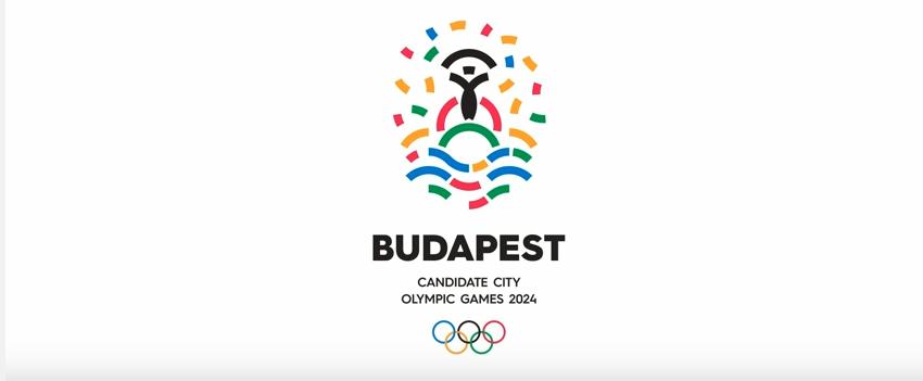 Budapest Logotipo Olímpiadas 2024