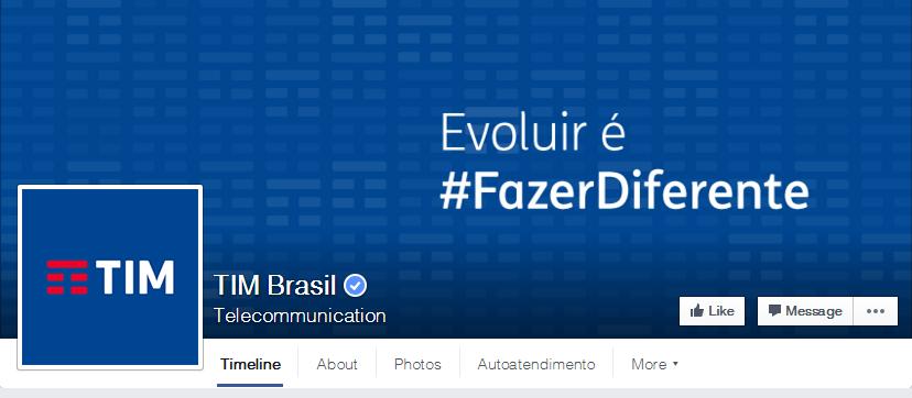 Página no Facebook já conta com a atualização da marca (Foto: Design Conceitual).