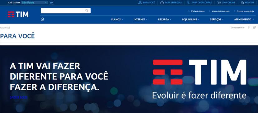 Novo site da empresa (Foto: Design Conceitual).