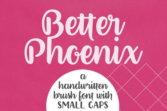 Fontes Download Font Free Grátis Better Phoenix