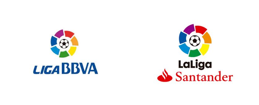 Antiga e nova versão do logotipo do campeonato (Fotos: Divulgação).