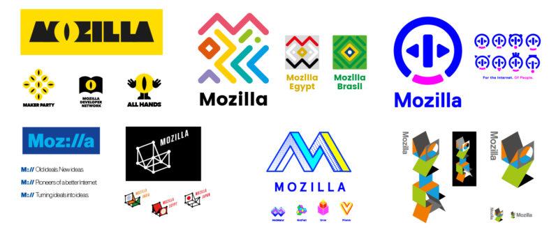 Mozzilla Logotipo Logotype
