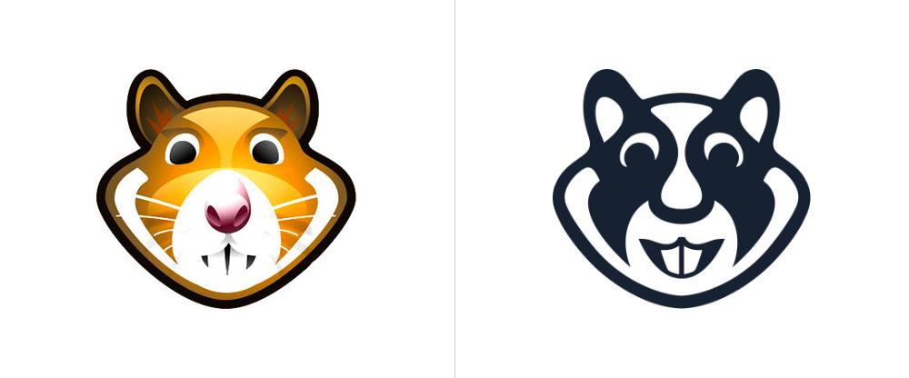 X Hamster New Logotype X Hamster Logotipo