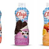 Novas embalagens de iogurte (Foto: Reprodução).
