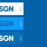 Diferentes aplicações do logotipo (Foto: Divulgação).