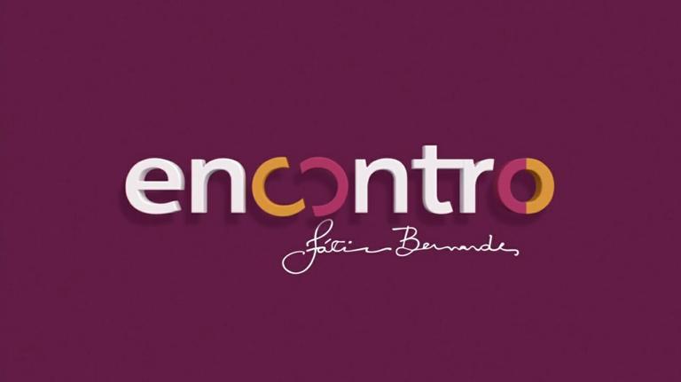 Encontro com Fátima Bernardes novo logotipo Identidade Visual