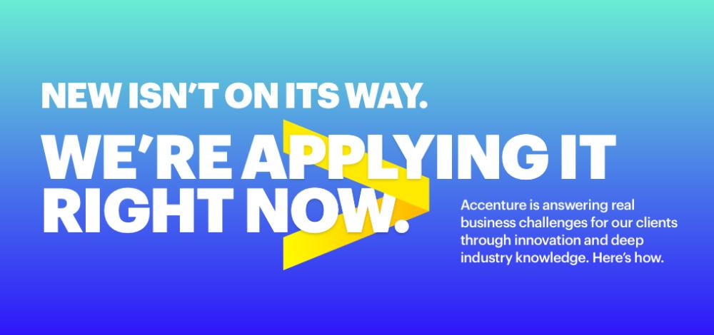 Accenture Logo New Logotipo Aplicação