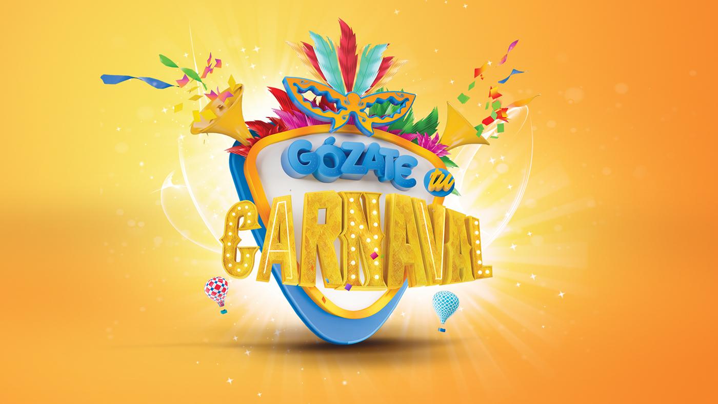 Campanha Gozate tu Carnaval, por Anderson Yasmil de Jesus (Foto: Reprodução).