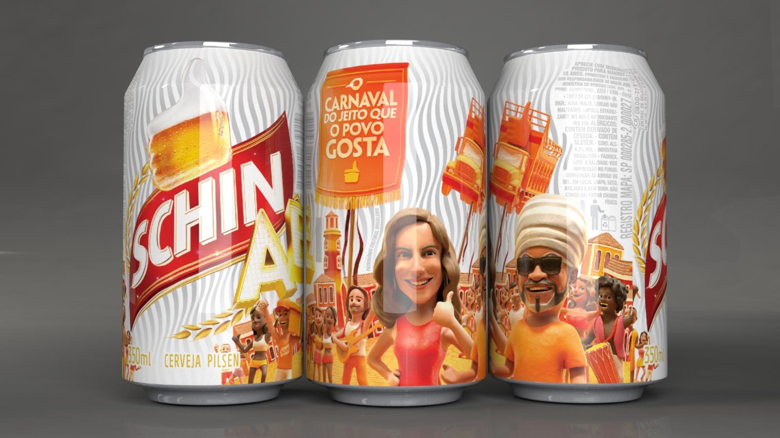 Carnaval Schin Aê 2017 Embalagem