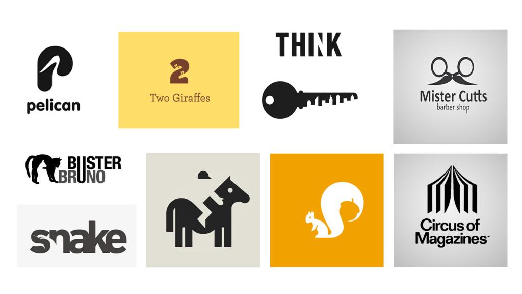 Espaço Negativo Logotipo Design