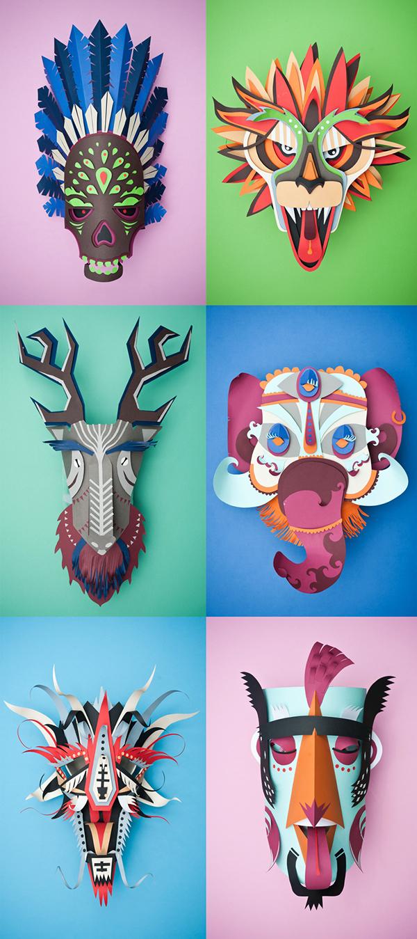 Graphic Carnaval, por INK Studio, Vébé, William Mirante, Cid Phil, Jessica Sieben, Braeckevelt Julien, Yann Platis (Foto: Reprodução).
