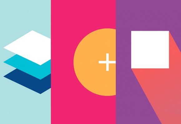 """""""Material Design"""" é uma das técnicas em alta do Web Design."""