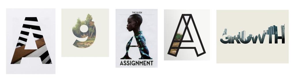fotografia em logos