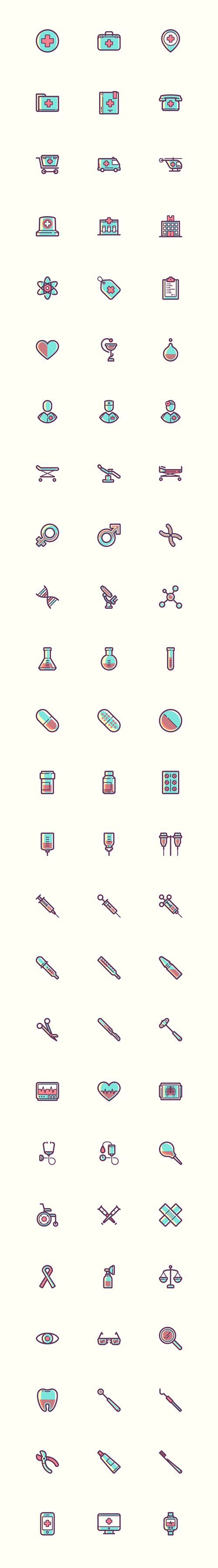 Ícones-de-medicina-para-downlod