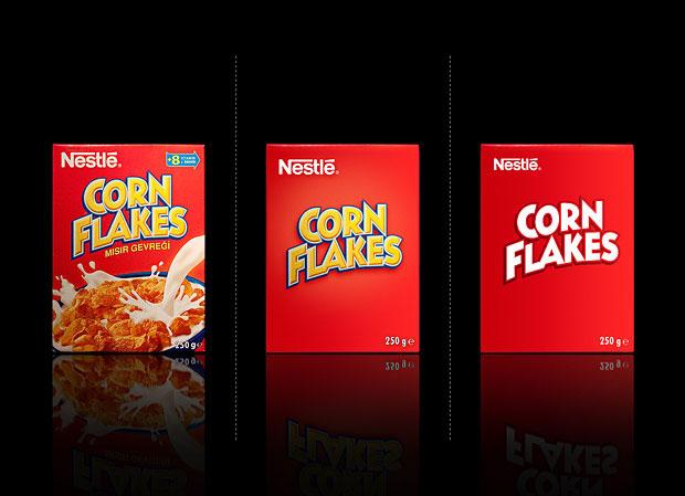 Corn Flakes Minimalismo