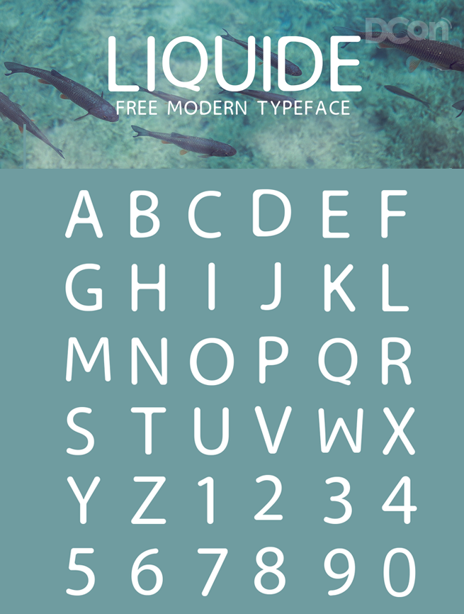 Liquide-Free-Font