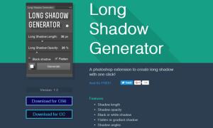 Long-Shadow-Generator