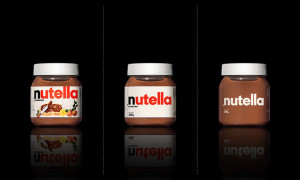 Nutella Minimalismo
