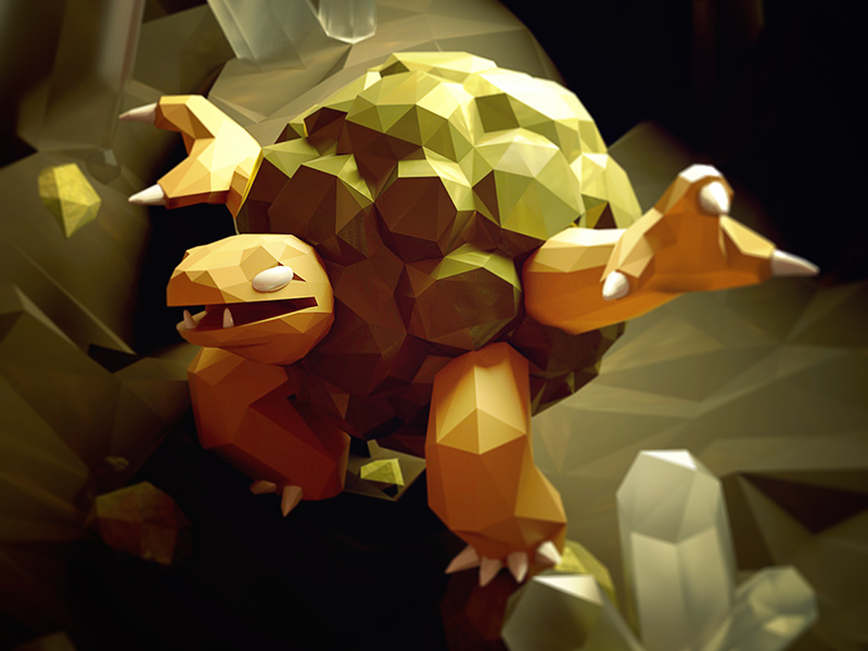 Pokemon-Low-Poly-10