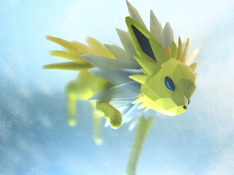 Pokemon-Low-Poly-2