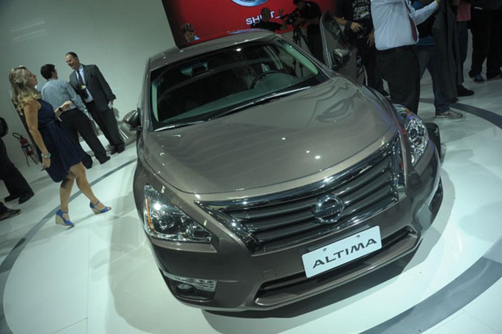 Nissan Altima (Foto: Reprodução).