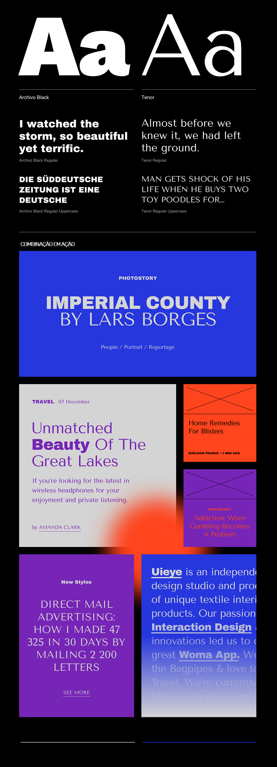 archivo-e-tenor-google-fonts