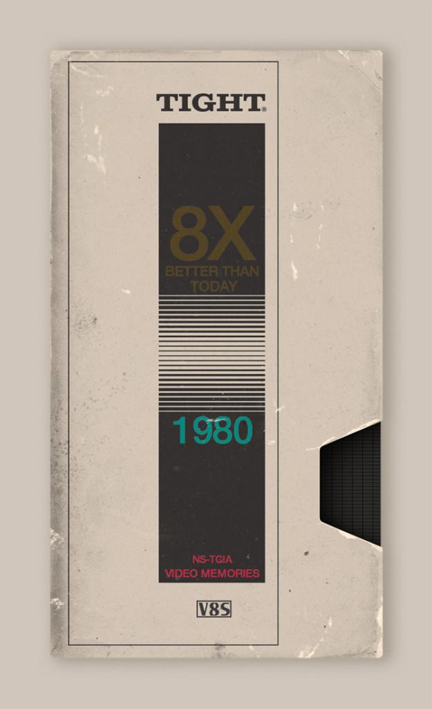 Memória dos Anos 80 - Design das Fitas K7 10