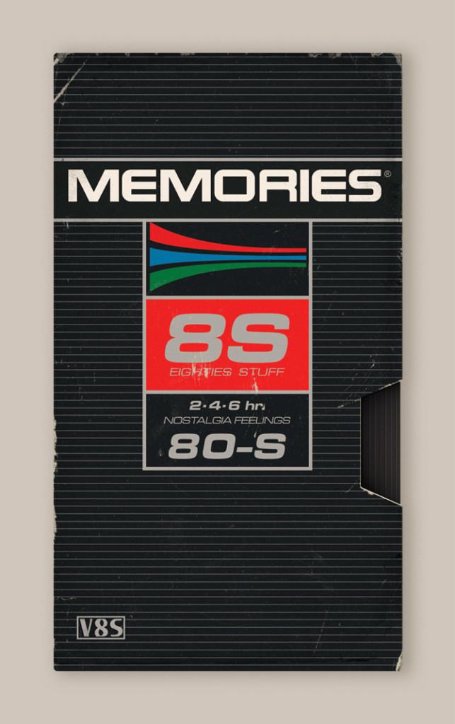 Memória dos Anos 80 - Design das Fitas K7 12