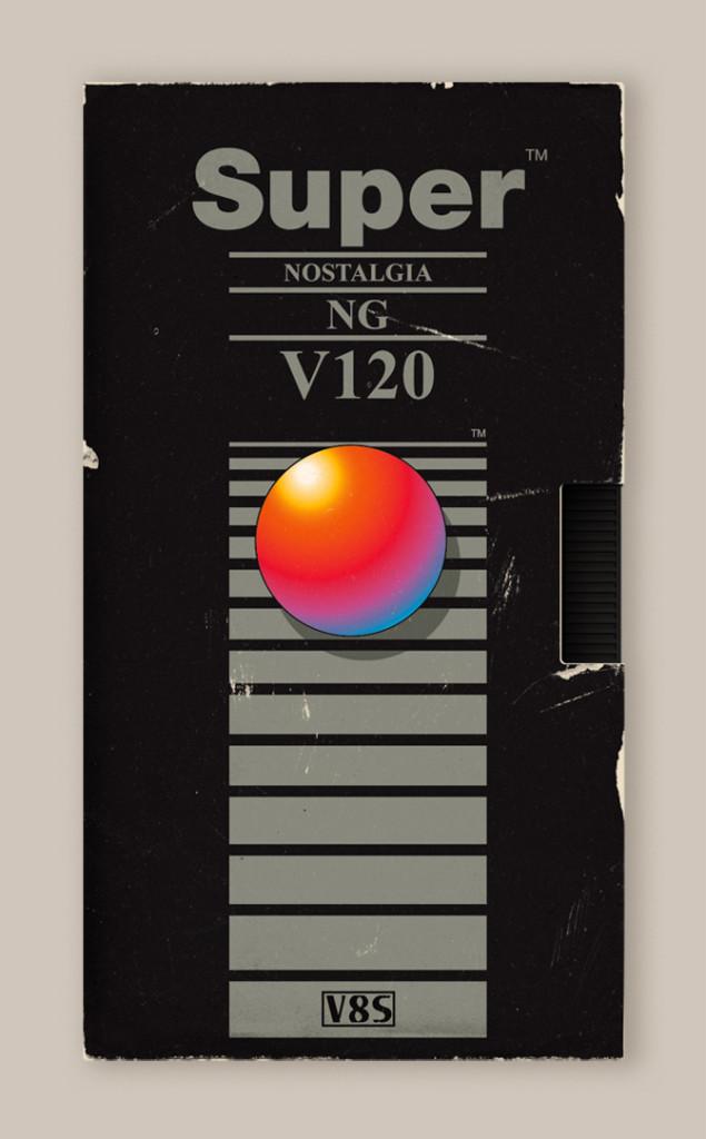 Memória dos Anos 80 - Design das Fitas K7 2