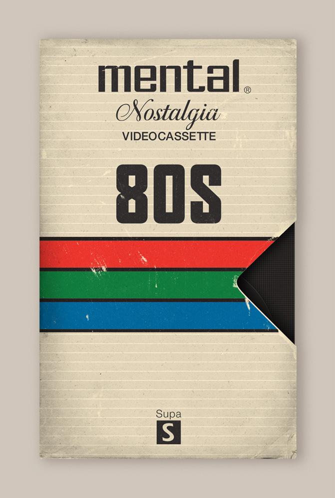 Memória dos Anos 80 - Design das Fitas K7 5