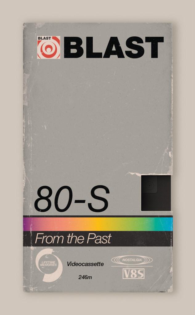 Memória dos Anos 80 - Design das Fitas K7 8
