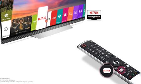 Netflix Hot Key_The Remote of 2017 LG OLED TV