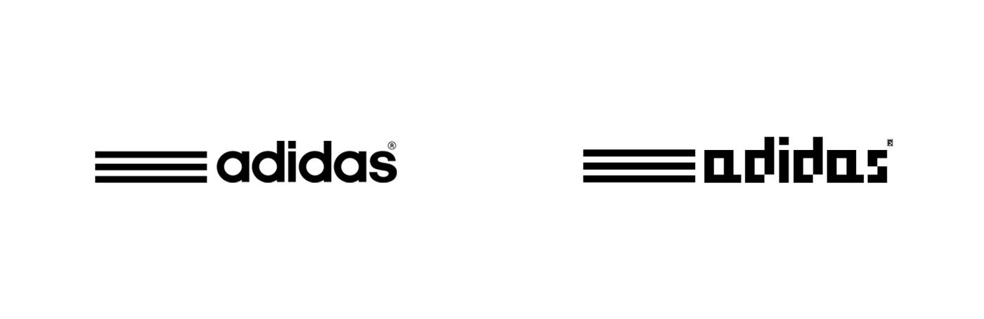 Pixel Art Adidas