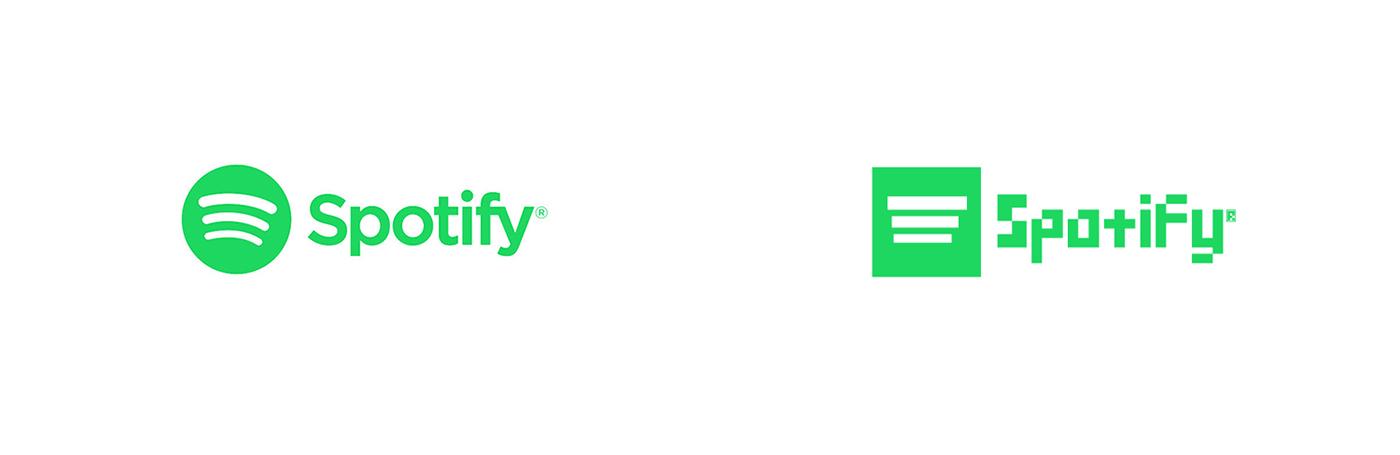 Spotify Pixel Art