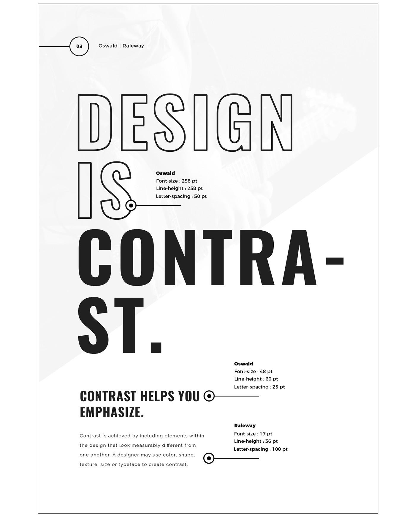 Tendências de Google Fonts 2017 Contraste B
