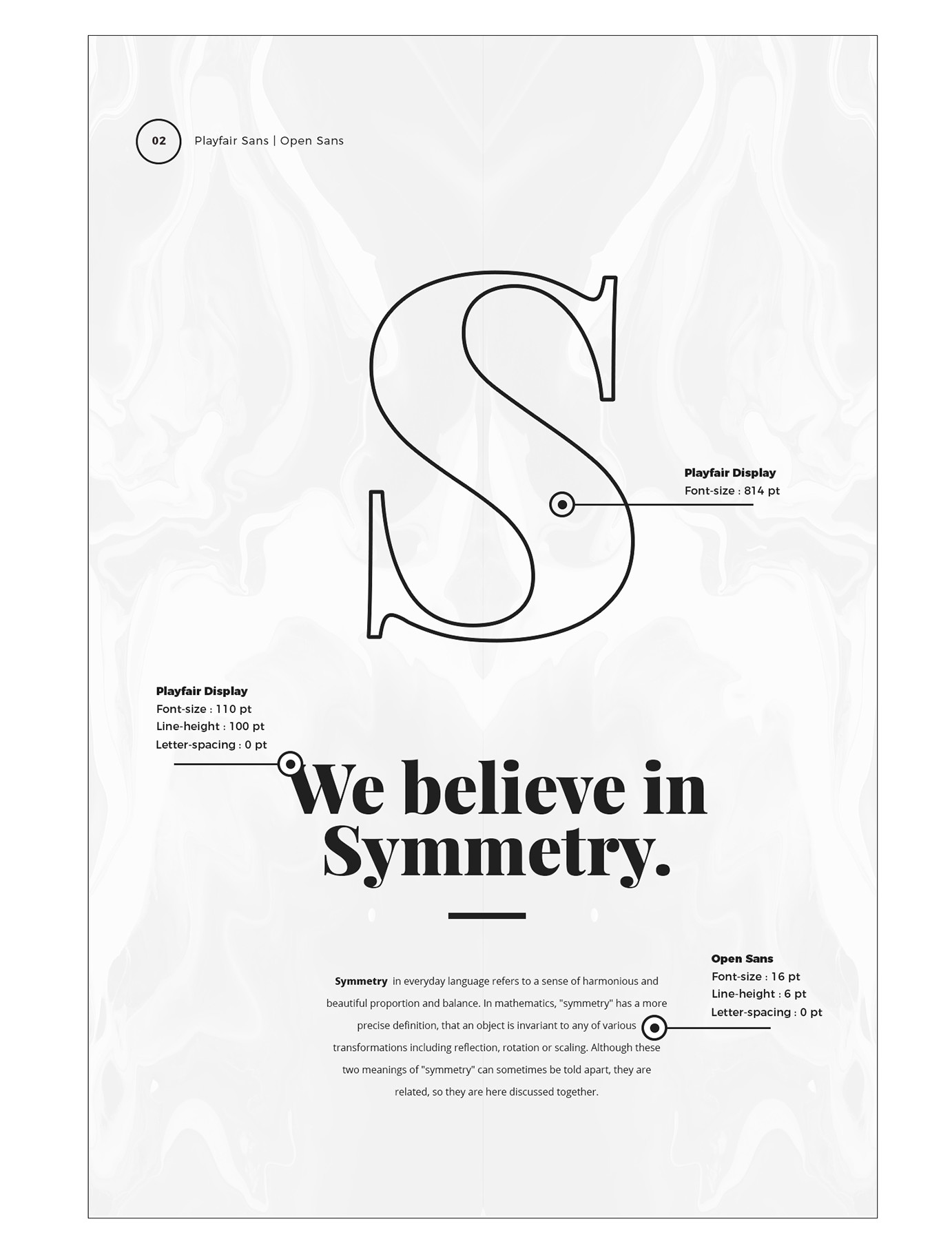 Tendências de Google Fonts 2017 Simetria b