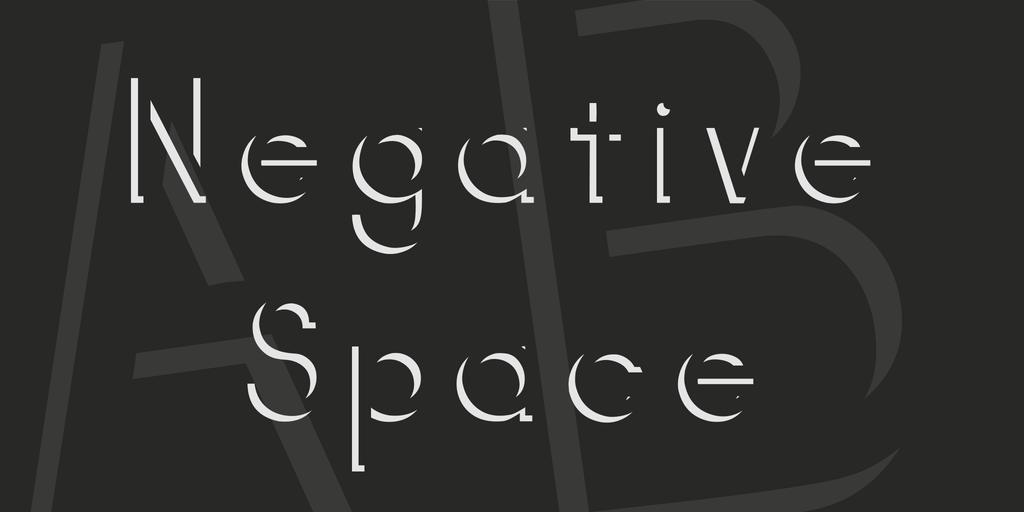 negativespace-font-1-big