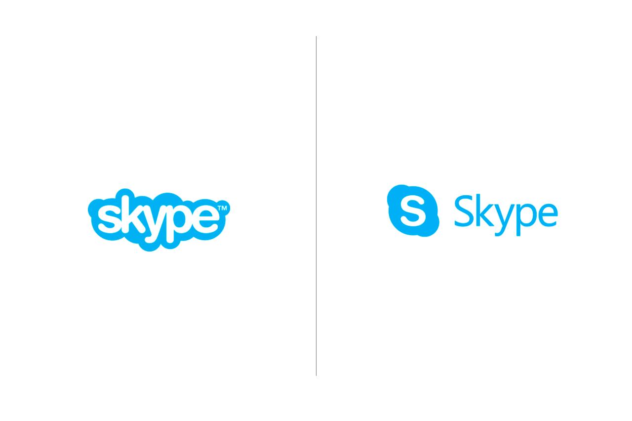 Skype anuncia novo logo design conceitual antigo e novo logo da ferramenta foto reproduo stopboris Gallery